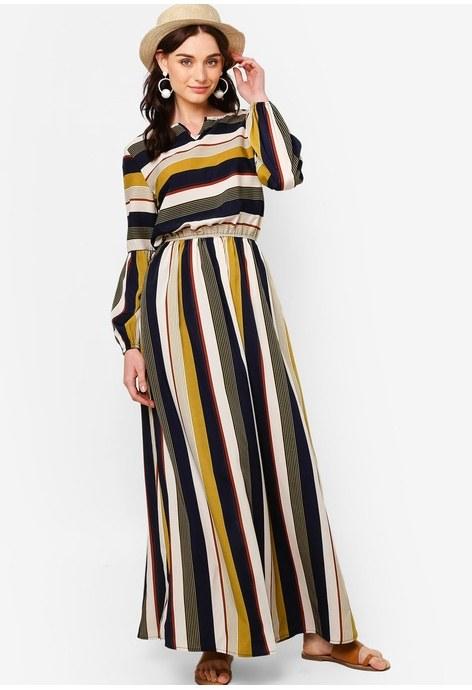 Ide Model Baju Pengiring Pengantin Muslim Gdd0 Elegant Model Dress Batik 2018 Gamis Brokat