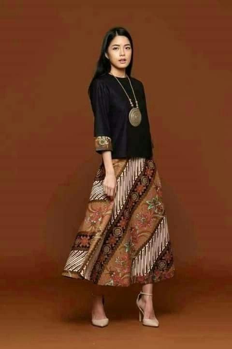 Ide Model Baju Pengiring Pengantin Muslim Tldn Elegant Model Dress Batik 2018 Gamis Brokat