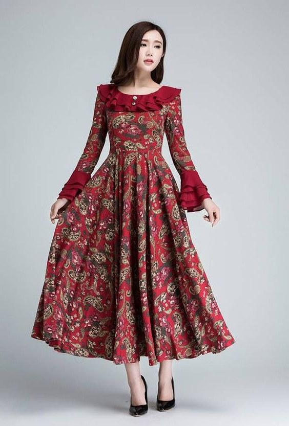 Ide Model Baju Pengiring Pengantin Muslim Wddj Elegant Model Dress Batik 2018 Gamis Brokat