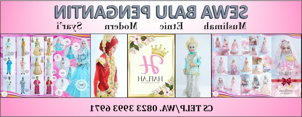 Ide Sewa Baju Pengantin Muslimah Syar'i 9ddf Harga Sewa Gaun Pengantin Di Makassar 0823 3993 6971
