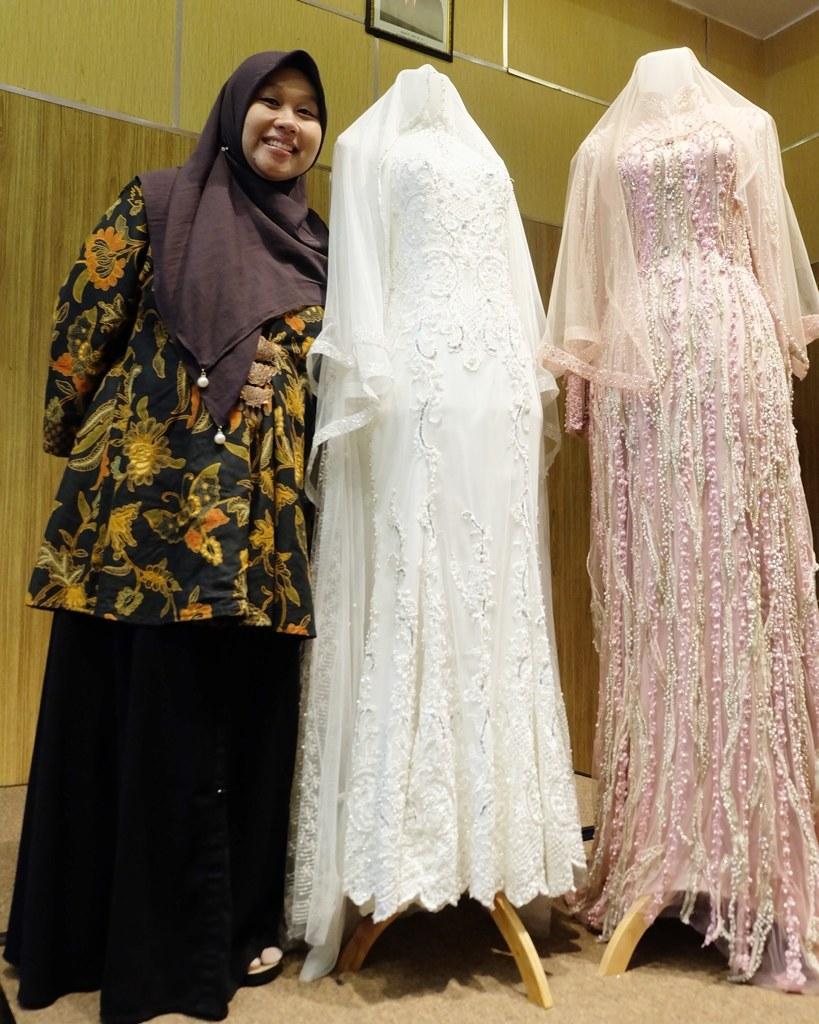 Ide Sewa Baju Pengantin Muslimah Syar'i Irdz Laksmi Wedding Sewa Busana Pengantin Muslimah Bertema