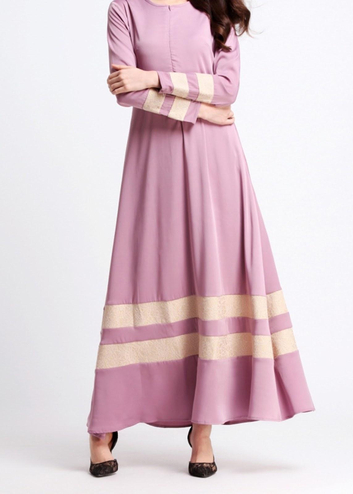 Ide Sewa Baju Pengantin Muslimah Syar'i S5d8 norzi Beautilicious House Nbh0491 Insyikah Jubah Nursing