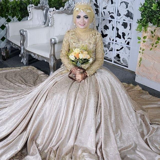 Inspirasi Baju Gaun Pengantin Muslimah Gdd0 butikkebayatemanggung Hashtag On Instagram S and Videos