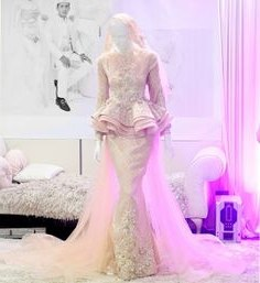 Inspirasi Baju Kebaya Pengantin Muslim D0dg 224 Best songket Fashion Images In 2019