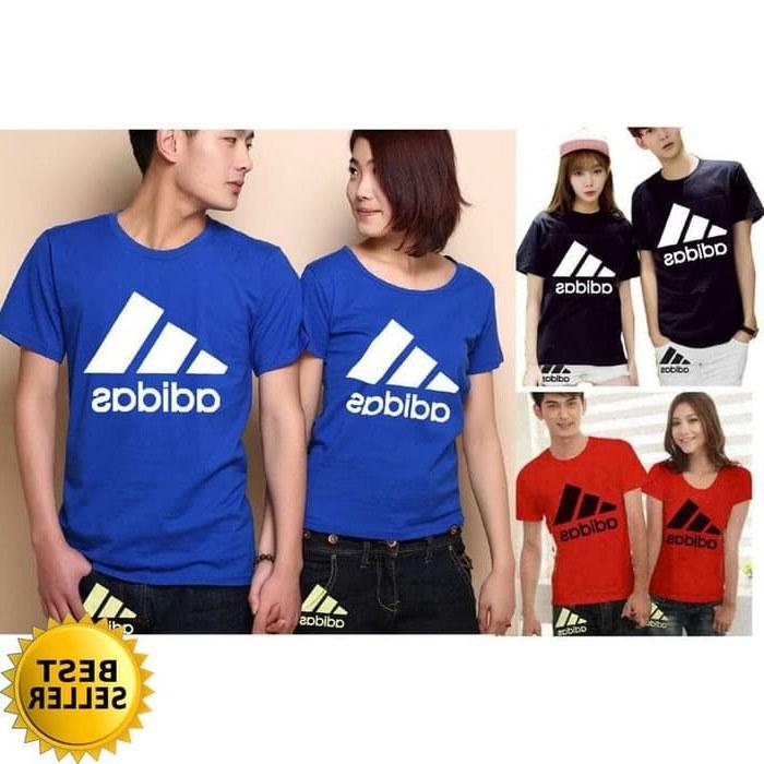 Inspirasi Baju Pasangan Pengantin Muslim Dwdk Jual Zo Couple Adidas Kaos Katun Kombat Halus Adem T Shirt Baju Pasangan Dki Jakarta tokoshimura11