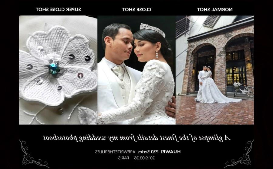 Inspirasi Baju Pasangan Pengantin Muslim Q5df Romantisnya Pandang Pertama Gambar Pra Perkahwinan Fasha