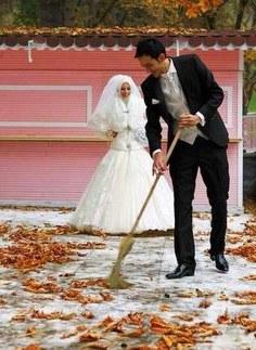 Inspirasi Baju Pasangan Pengantin Muslim Qwdq 30 Best Foto Foto Pengantin Muslim Romantis Images