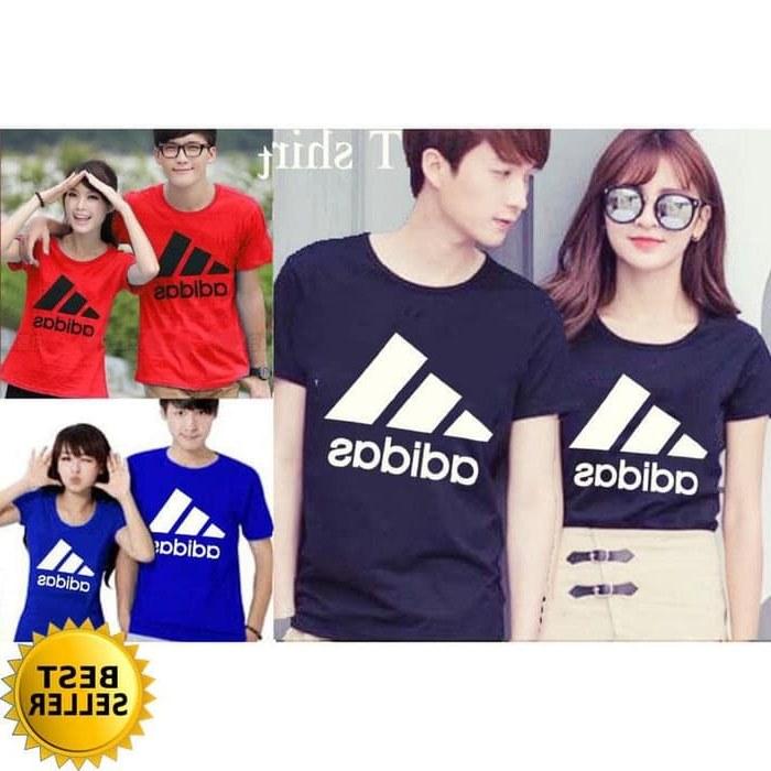 Inspirasi Baju Pasangan Pengantin Muslim Tqd3 Jual Zo Couple Adidas Kaos Katun Kombat Halus Adem T Shirt Baju Pasangan Dki Jakarta tokoshimura11