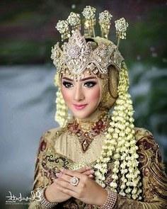Inspirasi Baju Pengantin Muslim Adat Sunda 8ydm 13 Best Headgear Images