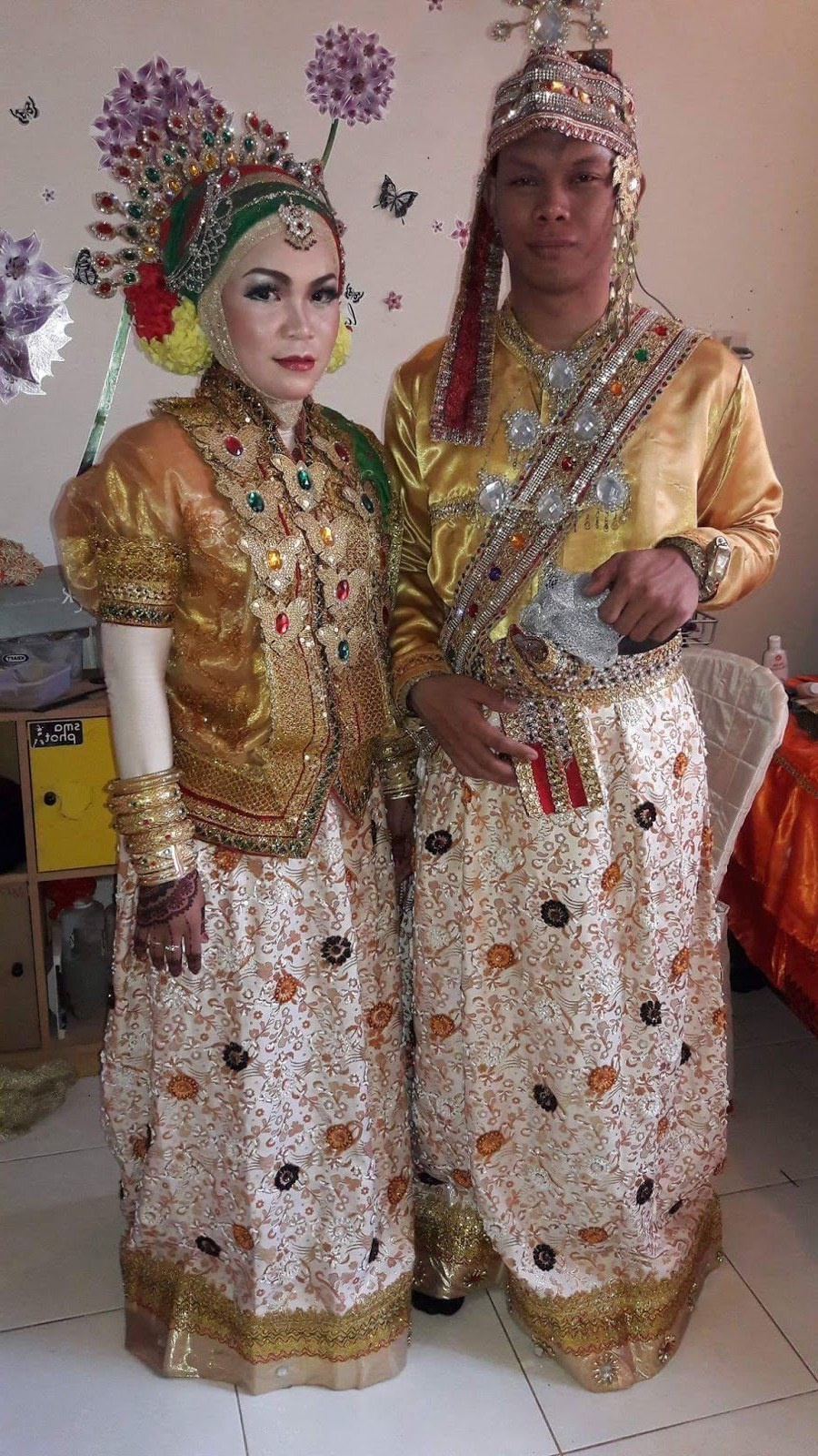 Inspirasi Baju Pengantin Muslim Adat Sunda 9ddf 17 Konsep Baju Adat Bugis