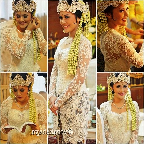 Inspirasi Baju Pengantin Muslim Adat Sunda Nkde Baju Pernikahan Adat Sunda Berhijab