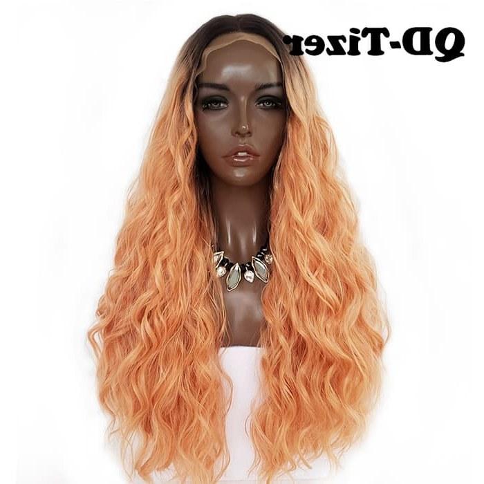 Inspirasi Baju Pengantin Muslim Pria 87dx Jual Qd Tizer Density Ombre orange Loose Hair Synthetic Lace Wigs Kota Surabaya Delux Mall