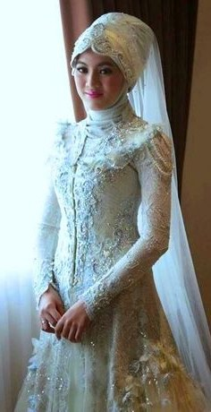 Inspirasi Baju Pengantin Muslim Syari 3id6 9 Best Gaun Pengantin Model Kebaya Images In 2016