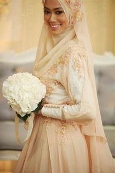 Inspirasi Baju Pengantin Muslim Syari Nkde 33 Best Muslim Wedding Images In 2019