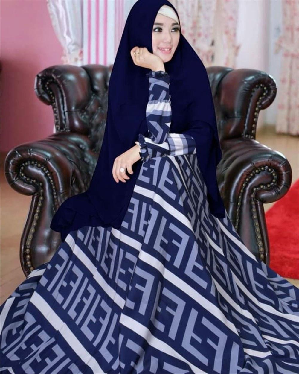 Inspirasi Baju Pengantin Muslim Syari Qwdq Tangga Dapur Peralatan