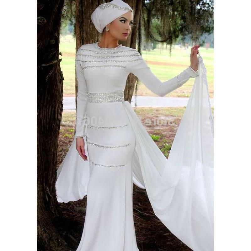 Inspirasi Baju Pengantin Muslimah Modern 2017 3ldq Silver Muslim Wedding Dress – Fashion Dresses
