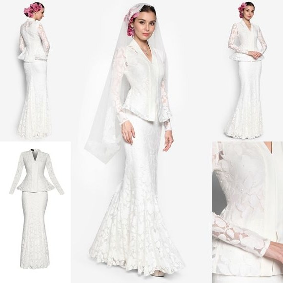 Inspirasi Baju Pengantin Muslimah Modern 2017 Q5df Kirazaini Kirazaini On Pinterest