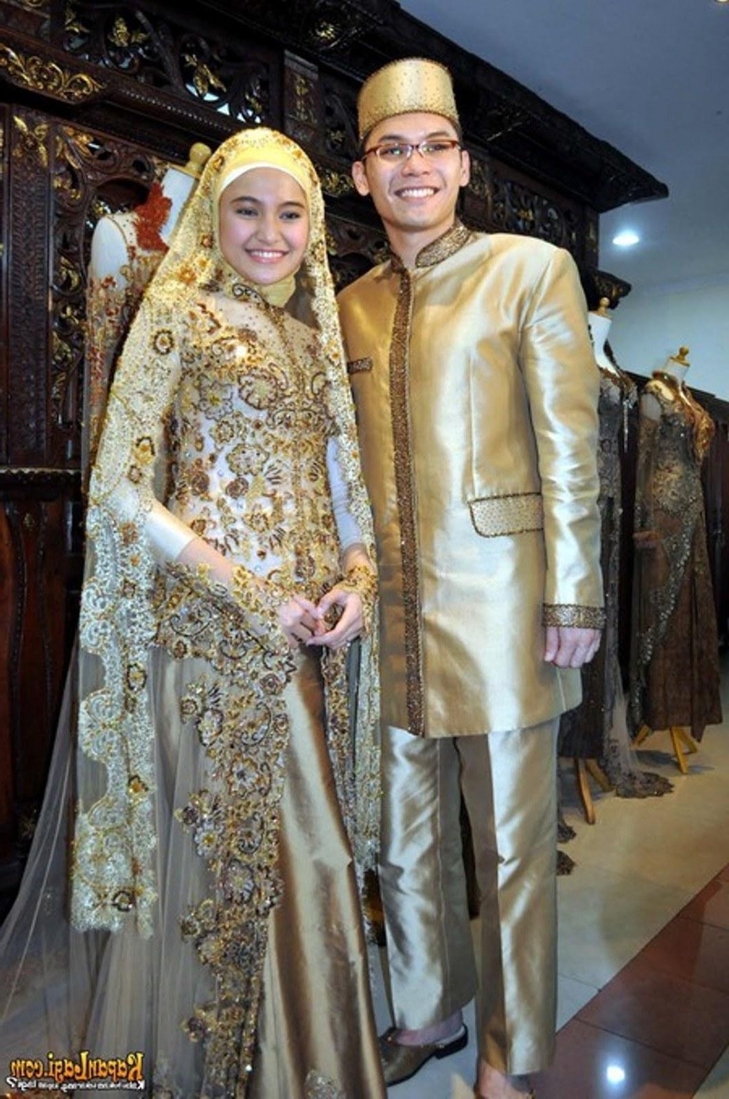 Inspirasi Busana Pengantin Berhijab Tqd3 30 Model Hijab Syari Wedding