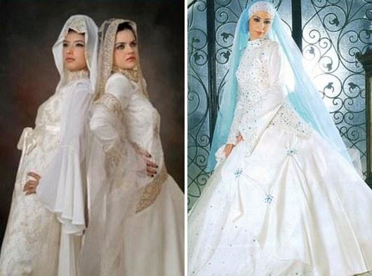 Inspirasi Busana Pengantin Berhijab Tqd3 44 Gaun Pernikahan Wanita Muslim Baru