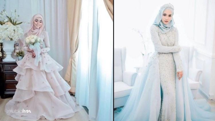 Inspirasi Busana Pengantin Muslimah Modern E9dx 15 Variasi Gaun Pengantin Internasional Hijab Yang sopan