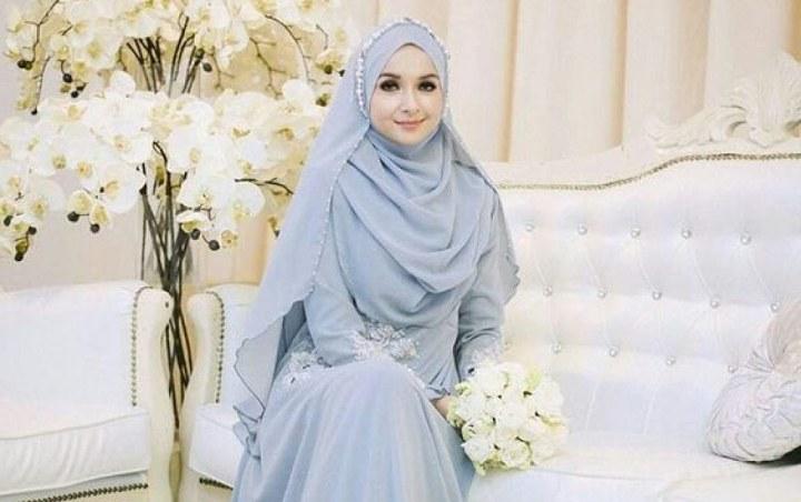 Inspirasi Busana Pengantin Muslimah Modern O2d5 12 Inspirasi Gaun Pengantin Muslimah Syar I Yang Tetap