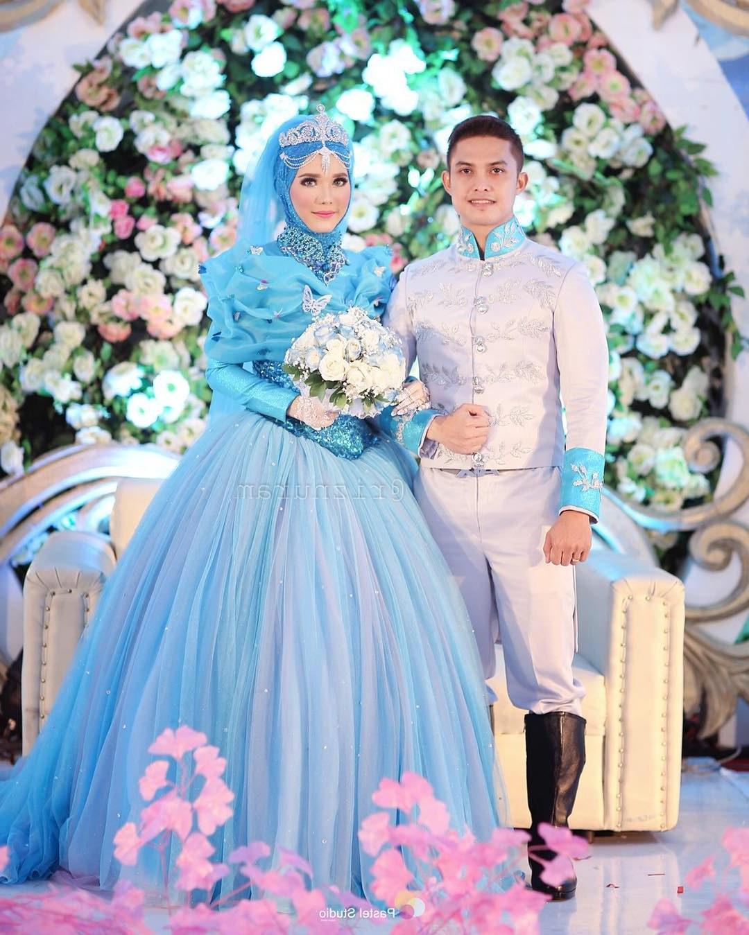 Inspirasi Busana Pengantin Muslimah Modern Y7du 10 Inspirasi Gaun Pengantin Muslimah Ber A Modern Bak
