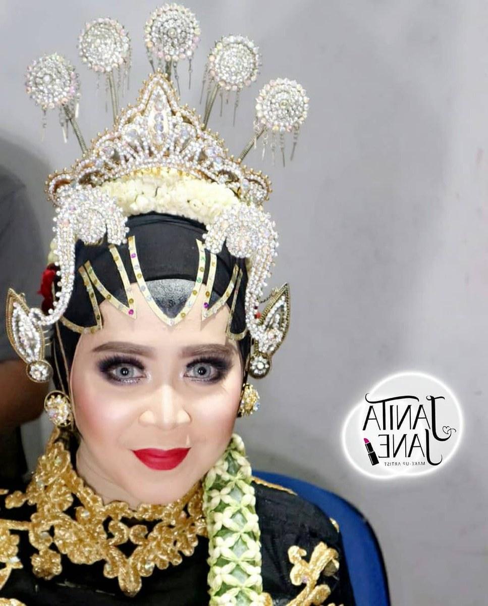 """Inspirasi Gaun Pengantin Muslim Adat Jawa Thdr Uživatel Janitajanemakeup Na Twitteru """" Prosesimakeup Masih"""