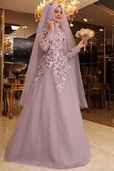 Inspirasi Gaun Pengantin Muslim Mewah Dan Elegan Jxdu 4645 Best Busana Muslim Images