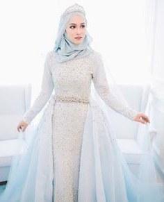 Inspirasi Gaun Pengantin Muslim Sederhana Xtd6 1921 Gambar Shabby Chic theme Wedding Terbaik Di 2019