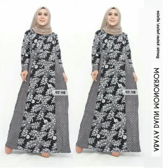 Inspirasi Gaun Pernikahan Muslimah 8ydm Jual Baju Gamis Batik Gamis Daun Pakaian Baju Batik Muslimah 05 Modern Kota Pekalongan Grosir Batik Ekslusif