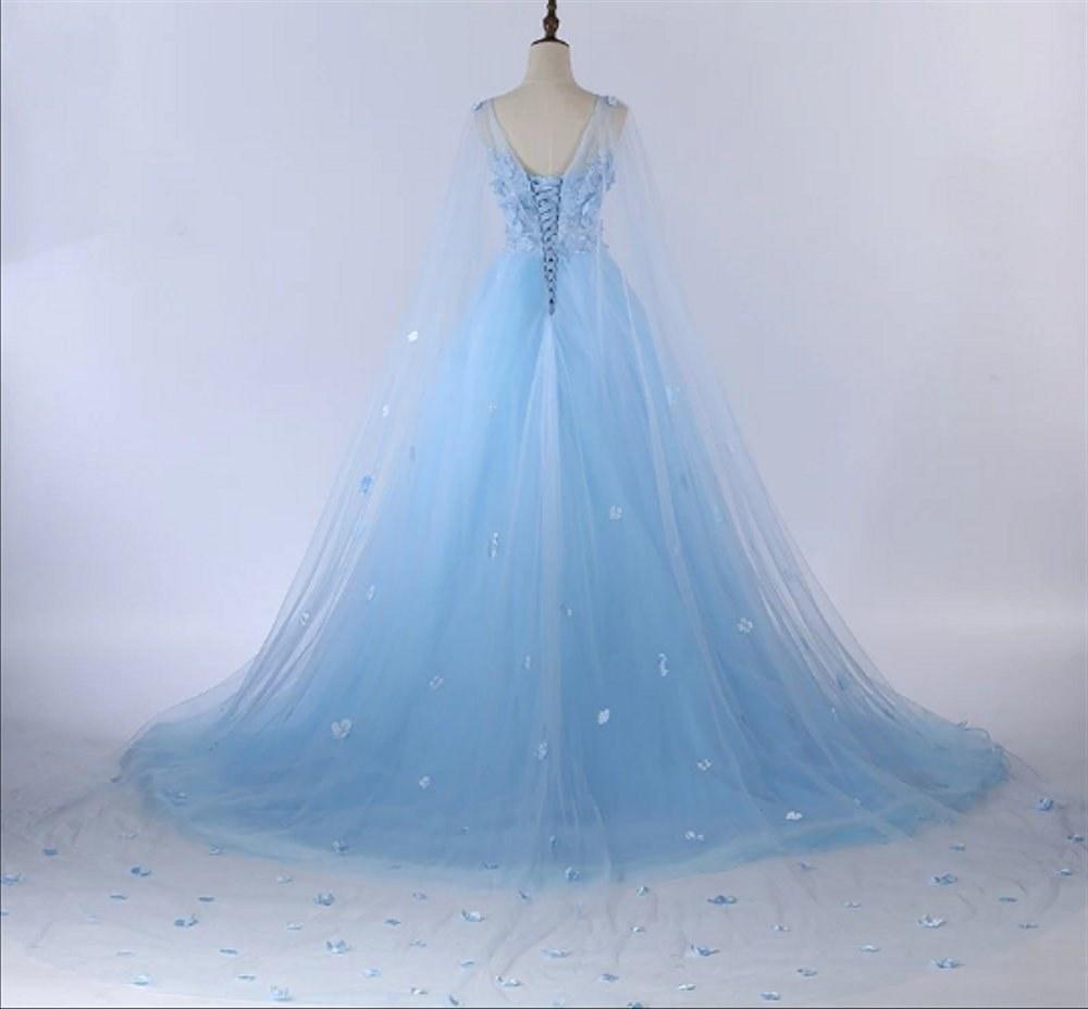 Inspirasi Gaun Pesta Pengantin Muslimah 9fdy Tb 228 Gaun Baju Pesta Pengantin Pre Wedding Dress Muslim Biru Ekor
