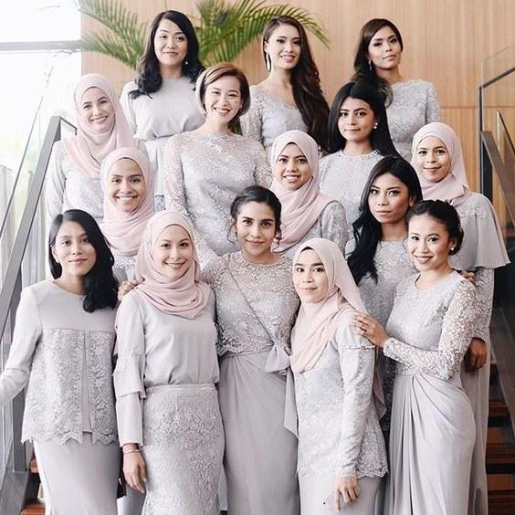 Inspirasi Gaun Resepsi Pernikahan Muslimah 0gdr Good Morning Shalximar In 2019