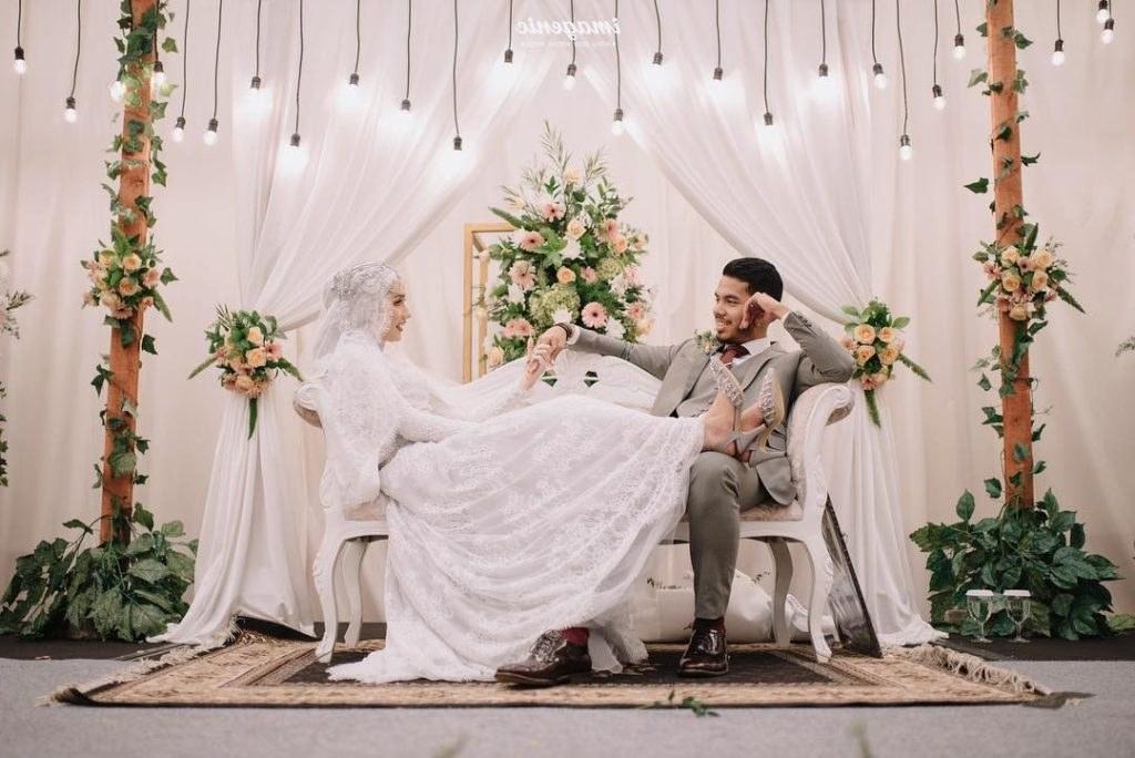 Inspirasi Gaun Resepsi Pernikahan Muslimah Ftd8 Inspirasi Baju Resepsi Pernikahan Muslimah Anggun Dan Mewah