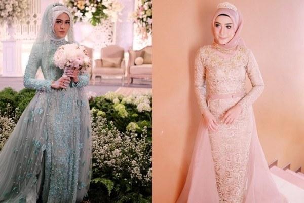 Inspirasi Gaun Resepsi Pernikahan Muslimah U3dh 12 Desain Gaun Pernikahan Muslimah Elegan Nan Sederhana