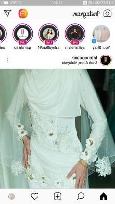 Inspirasi Inspirasi Gaun Pengantin Muslimah S1du 41 Best Pengantin to Be Images In 2019