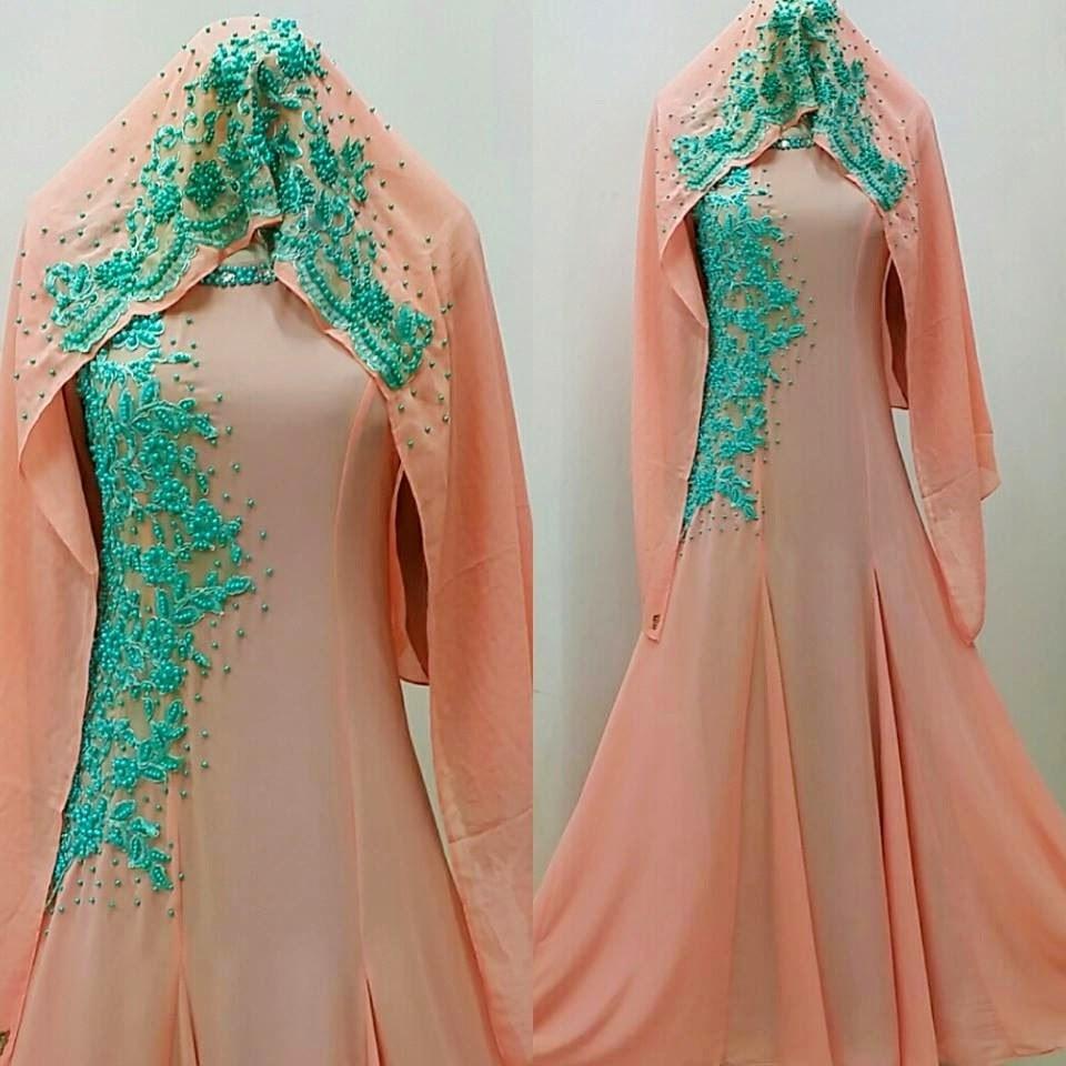 Inspirasi Inspirasi Gaun Pengantin Muslimah Tldn 38 top Inspirasi Baju Kebaya Warna Peach