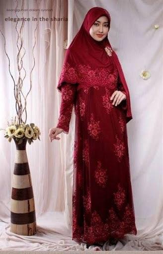 Inspirasi Model Baju Pengantin Muslim Terbaru Drdp Syalabia 03 Material Spandek Korea Tile Prada Idr 1 850 000