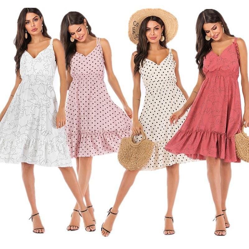 Inspirasi Model Baju Pengantin Muslimah 9ddf Spot Cross Border Europe and America Aliexpress Ebay Amazon Dress Lace Sling Stitching Explosions Women S Clothing