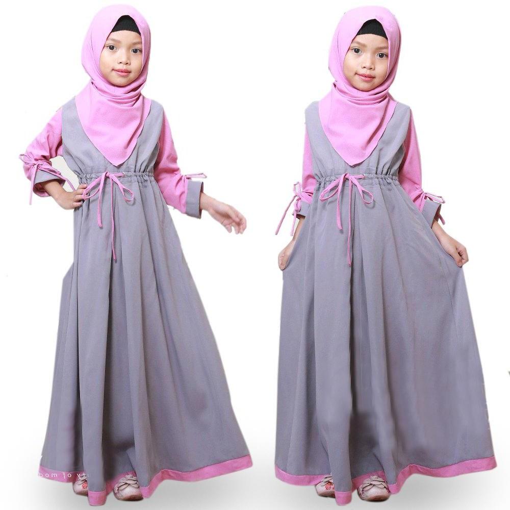 Inspirasi Model Baju Pengantin Muslimah Dwdk Baju original Gamis Renata Kids Dress Wolfice Trendy Modern Anak Baju Panjang Polos Muslim Gaun Main Dress Pesta Murah Terbaru Maxi Anak Muslimah