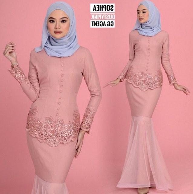 Model Baju Pengantin Muslim Elegan Qwdq 🔥🔥🔥 Mini Kurung sophea S M L&xl 🔥🔥🔥