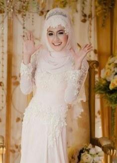 Model Baju Pengantin Muslim Syari 3ldq 41 Best Wedding Images