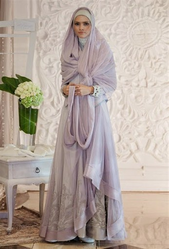 Model Baju Pengantin Muslim Syari D0dg 44 Gaun Pernikahan Wanita Muslim Baru