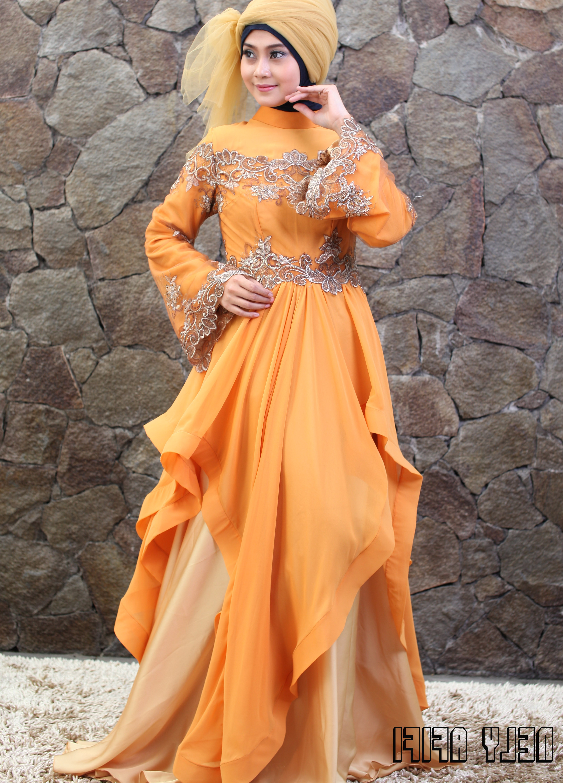 Model Baju Pengantin Muslimah Dian Pelangi 3ldq Nelyafifi Author at Wedding Dress Muslimah Designer