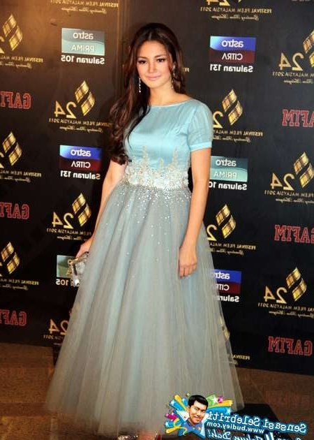 Model Baju Pengantin Muslimah Dian Pelangi 4pde Alyza Fisol Baju Fazura & Lisa Surihani Cantik Di Ffm24