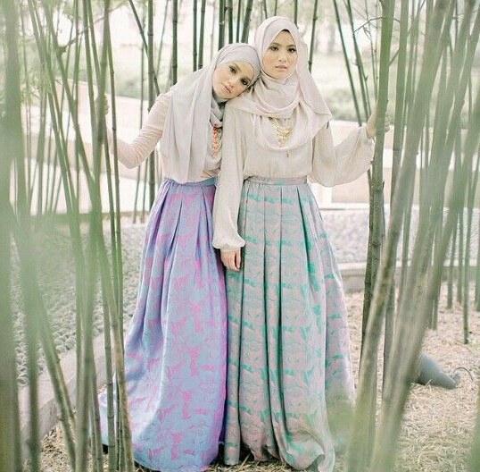 Model Baju Pengantin Muslimah Dian Pelangi 8ydm Pesta Wedding