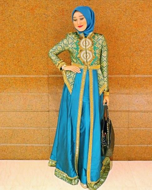Model Baju Pengantin Muslimah Dian Pelangi E9dx Model Baju Muslim Pesta Dian Pelangi