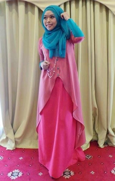 Model Baju Pengantin Muslimah Dian Pelangi Mndw Pesta Wedding