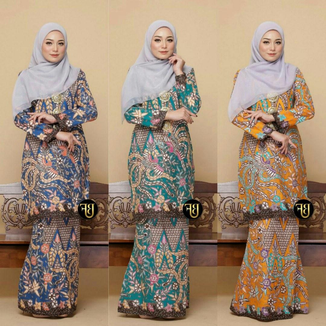 Model Baju Pengantin Muslimah Dian Pelangi Qwdq Baju Kurung Batik Bali