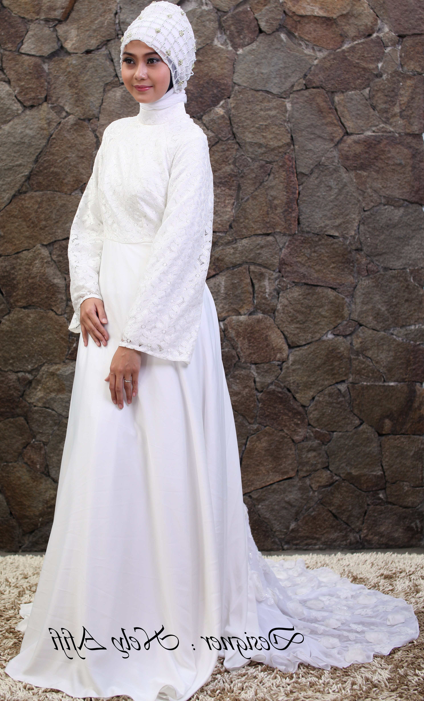 Model Baju Pengantin Muslimah Dian Pelangi T8dj Nelyafifi Author at Wedding Dress Muslimah Designer