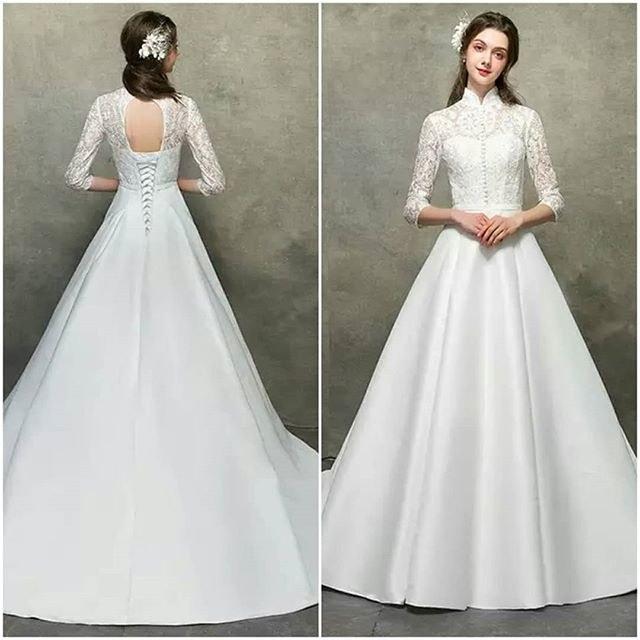 Model Baju Pengantin Muslimah Dian Pelangi Txdf Foto Desain Baju Pengantin Desain Pernikahan